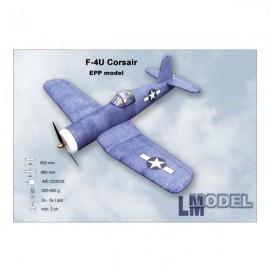 F4U Corsair nebarvený