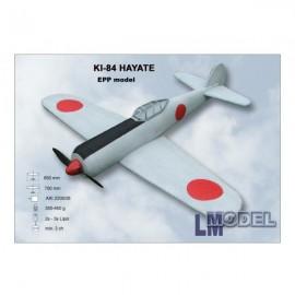 KI-84 Hayate nebarvený