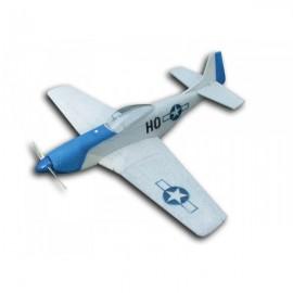P-51D Mustang nebarvený