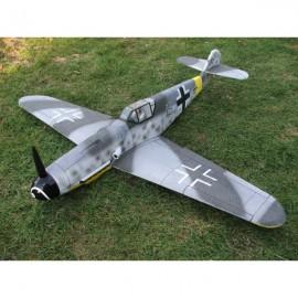 Messerschmitt Bf-109F nebarvený