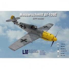 Messerschmitt Bf-109E nebarvený